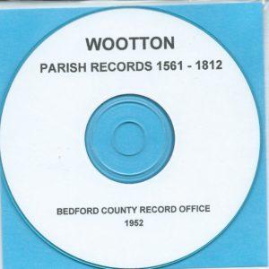 CD Great Barford /& Renhold Parish Registers Roxton