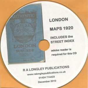 London Map 1920 [sectional] CD