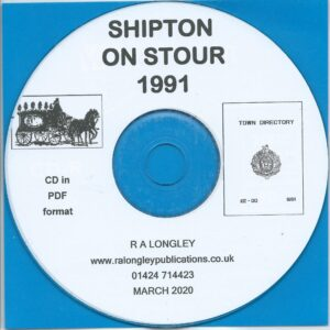 Shipston-on-Stour Directory 1991 CD