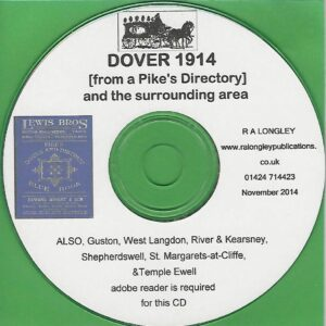Dover, Kent, Local Directory 1914 [Kelly's] CD