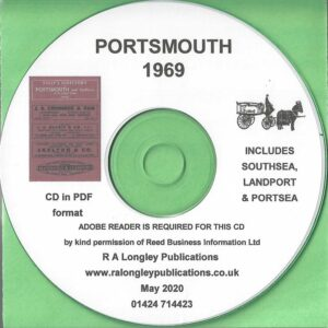 Portsmouth Directory incl. Southsea [Kelly's] 1969 CD