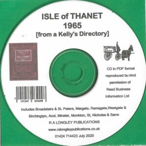 Isle of Thanet Local Directory 1965 [Kelly's] CD