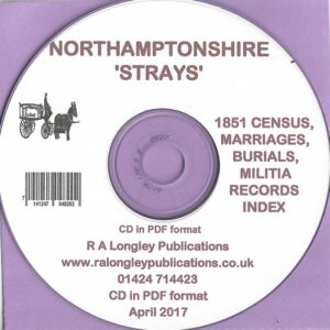 Northamptonshire Strays [CD]