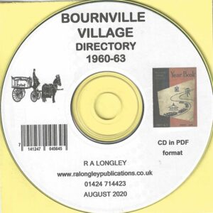Bournville Village, Local Directory and Guide 1960/63 CD
