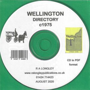Wellington, Local Directory and Guide c1975 CD