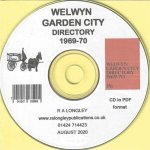 Welwyn Garden City, Local Directory and Guide 1969/70 CD