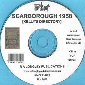 Scarborough Local Directory 1958 [Kelly's] CD