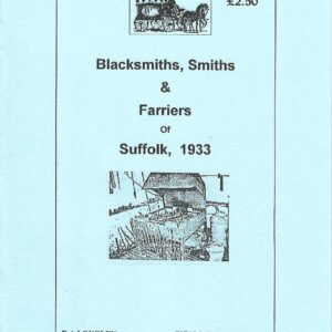 Suffolk Blacksmiths, Smiths and Farriers [1933] A5