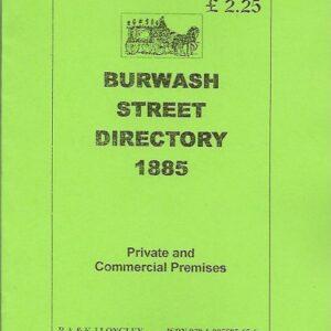 Burwash Street Directory 1885 [A5]