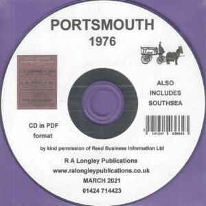 Portsmouth Directory incl. Southsea [Kelly's] 1976 CD