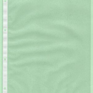 A4 1 Pocket Acid Free Archive Quality Portrait Sleeve & Card Insert [10 pack]
