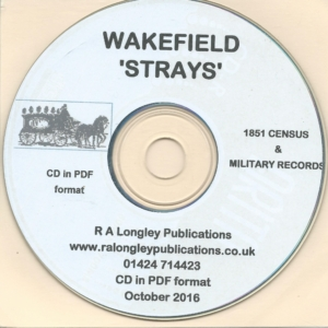 Wakefield, Yorkshire Strays on CD