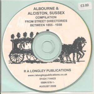 Albourne and Alciston Compilation CD 1855 – 1938