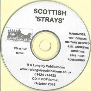 Scottish Strays on CD