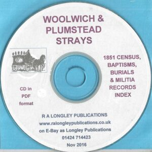 Woolwich and Plumstead Strays on CD