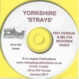 Yorkshire Strays on CD