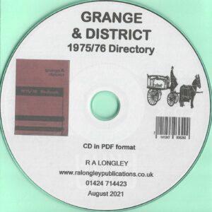 Grange & District 1975/76 Directory [CD]