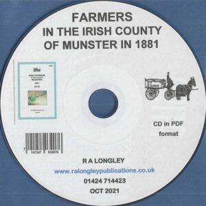Farmers in the Irish County of Munster in 1881 [CD]
