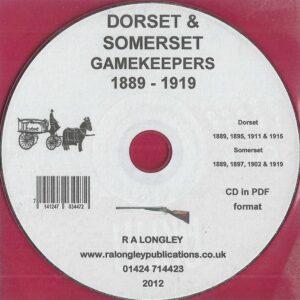 Dorset & Somerset Gamekeepers 1889 – 1919 [CD]