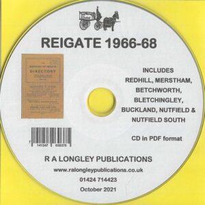 Reigate Directory 1966-68 CD
